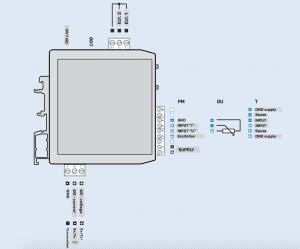 Cách đấu dây của Bộ chuyển tín hiệu 110V-220V-380V-450V sang 4-20ma
