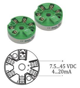 Bộ chuyển tín hiệu PT100 sang analog 4-20ma