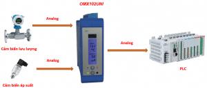 Bộ cách ly tín hiệu áp suất và lưu lượng