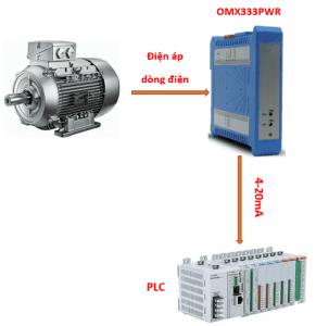 Bộ chuyển tín hiệu 110V-220V-380V-450V