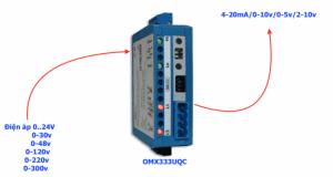 Chuyển đổi tín hiệu điện áp sang analog 4-20ma