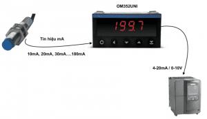 Bộ chuyển tín hiệu 10mA-20mA-30mA-40mA sang 4-20ma