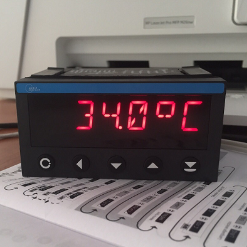 bộ hiển thị nhiệt độ ngõ ra rs485