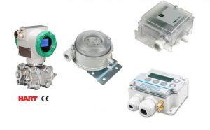 Các dòng cảm biến đo chênh áp