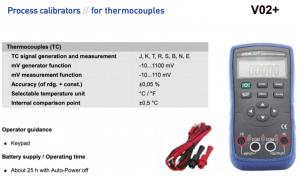 bộ tạo tín hiệu mV cảm biến can nhiệt