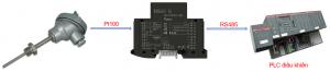 Bộ chuyển đổi tín hiệu Pt100 sang RS485