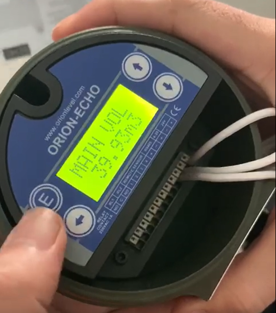 Cảm biến đo thể tích nước bằng siêu âm