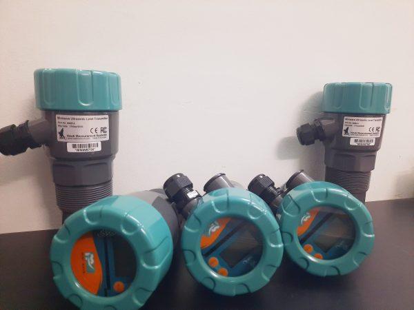 Cảm biến đo mức nước bằng siêu âm